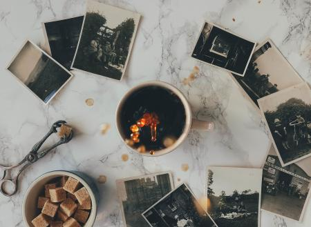 Coffee and Old Photographs