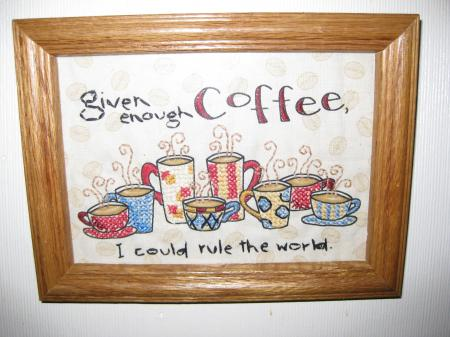 Coffee Cross-stitch