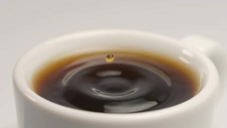 Coffee drop