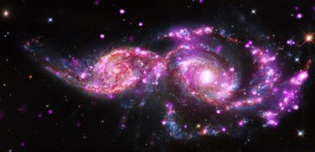 Colliding Spiral Galaxies