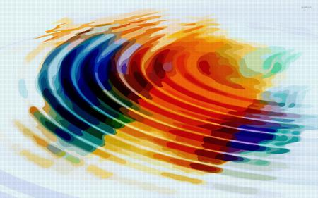Colorful Water Abstract
