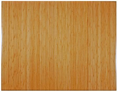Coloured bamboo mat