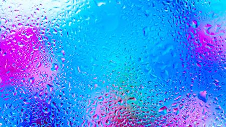 Coloured Rain Drops