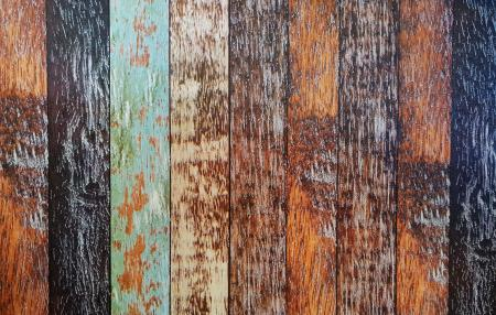 Colourful wooden bricks