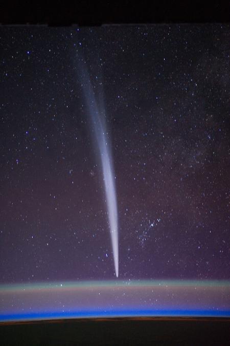Comet in Space
