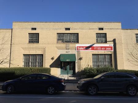 Commercial building, 817 N. Calvert Street, Baltimore, MD 21202