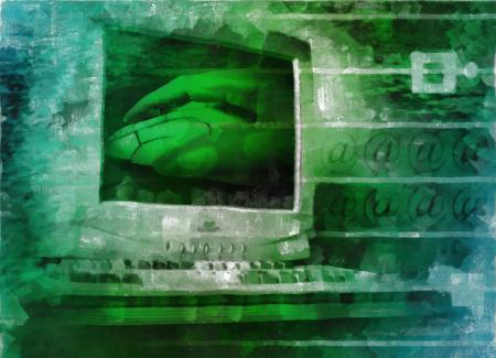 Computer Collage Illustration