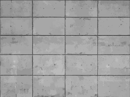 Concrete tiles texture