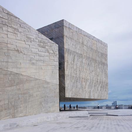 Concrete building