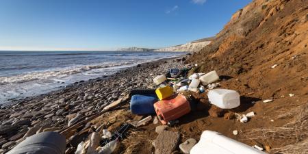 Contaminated Beach