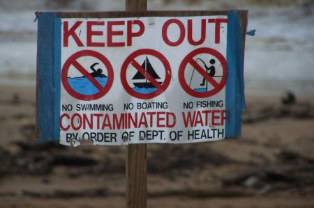 Contaminated Beach