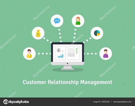 Customer Relationship Management - Illustration