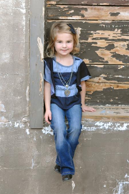 Cute Kid Posing