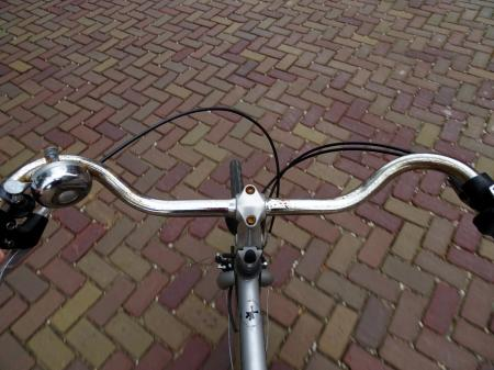 Cycling on a bike