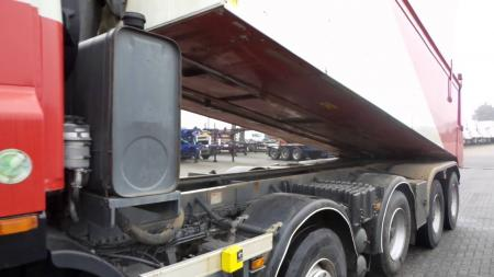 DAF lorry isolated