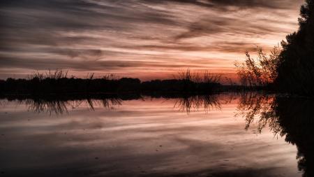 Danube's Sunset