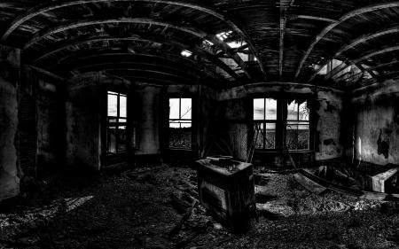 Dark Abandoned House