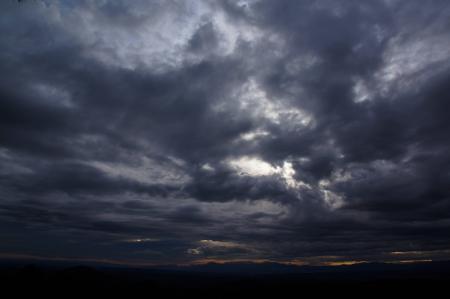 dark cloudy sky