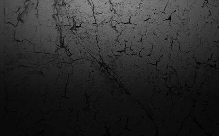 Dark cracked wall