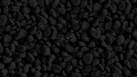 Dark Pebbles Texture