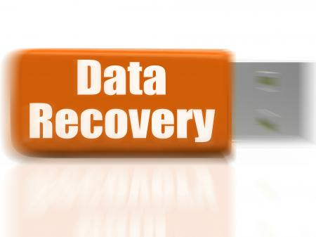 Data Recovery USB drive Means Safe Files Transfer Or Data Recovery