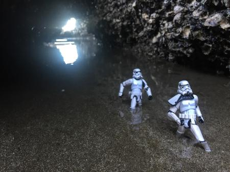 Day 41: In the sea cave