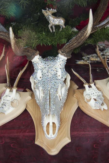 Deer Antler with Diamonds