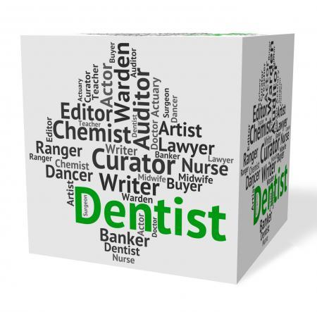 Dentist Job Indicates Dental Surgeons And Career