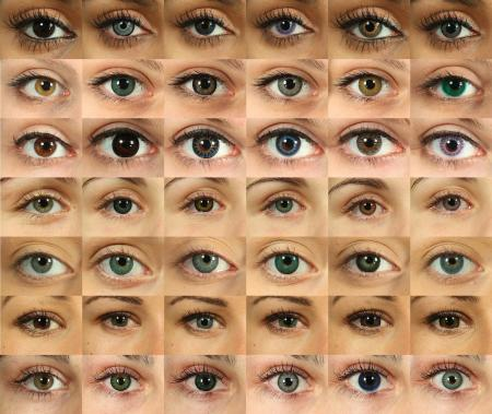 Different eyes