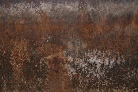 Rusty metal corner