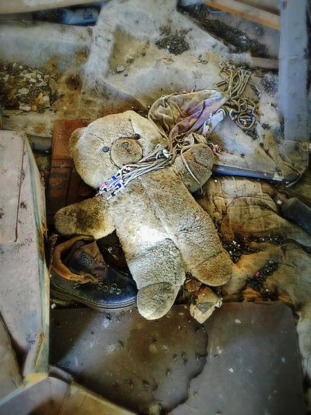 Dirty Stuffed Toy