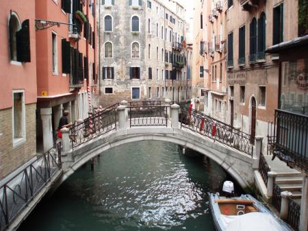 Discover the channels in Venice
