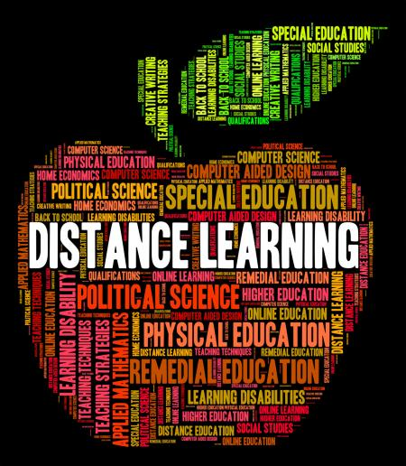 Distance Learning Words Indicates Correspondence Course And Developmen