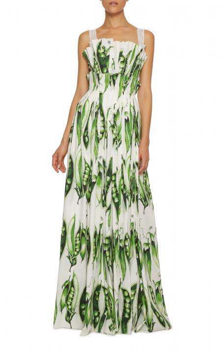 Dress in peas