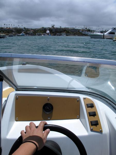 Driving My boat