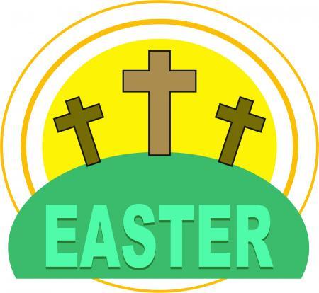 Easter Cross Clipart