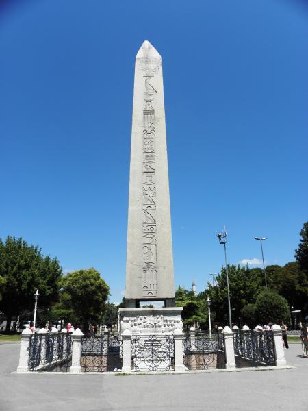 Egyptian obelisk in Istanbul