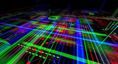 Electronic Circuits Render
