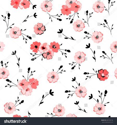 Elegant Flowery Background