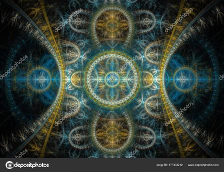 Elegant fractal background