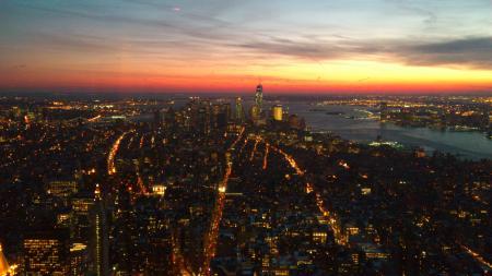 Empire State Building mot söder