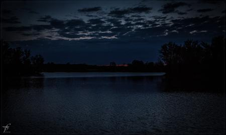 Evening about the Lake