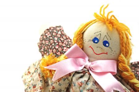 Fashion handmade doll