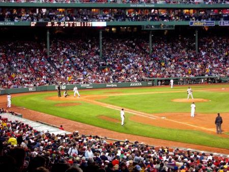 Fenway Baseball Game