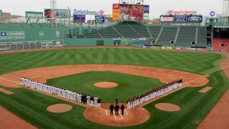 Fenway Baseball Game