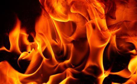 Fiery Grunge Texture