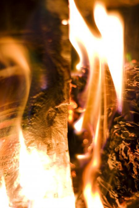 Fire Burning Hot