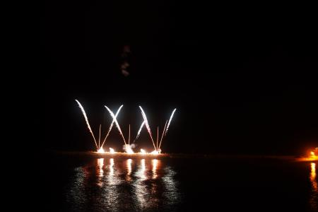 Fireworks by the Water