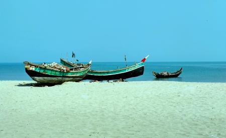 Fishing Boat, Saint Martin's Island, Teknaf, Cox's Bazar