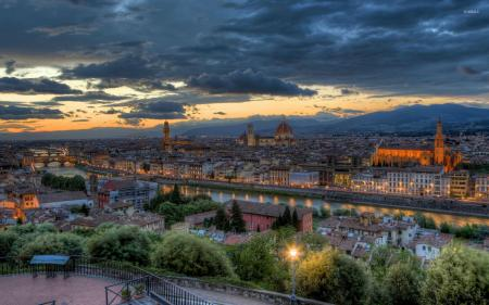 Florence in Dusk